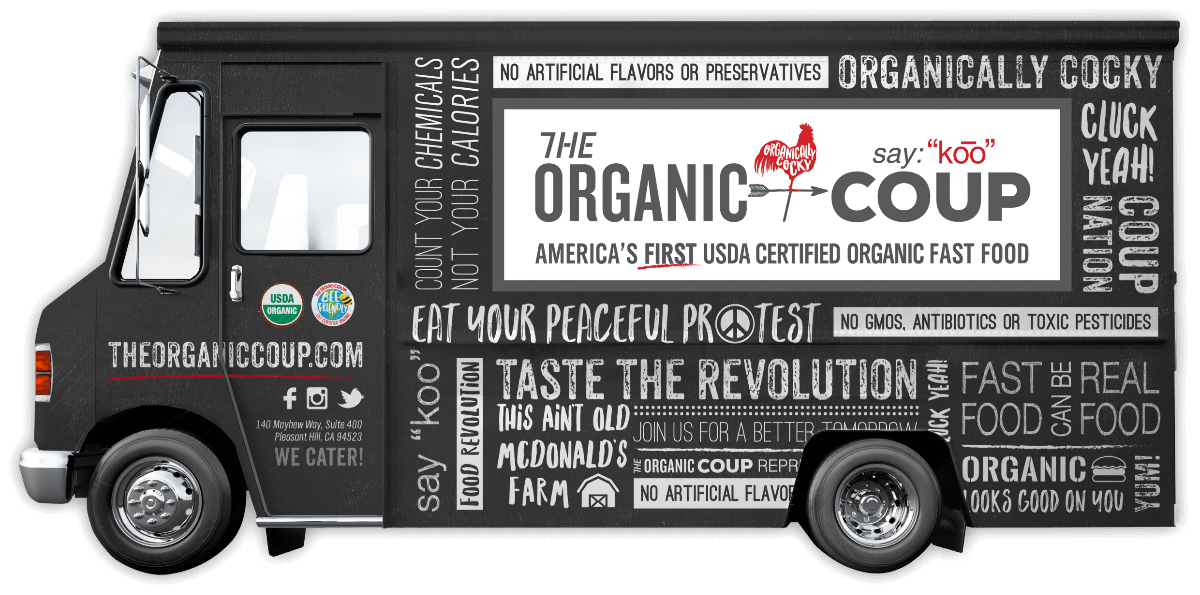 The Organic Coup Food Truck