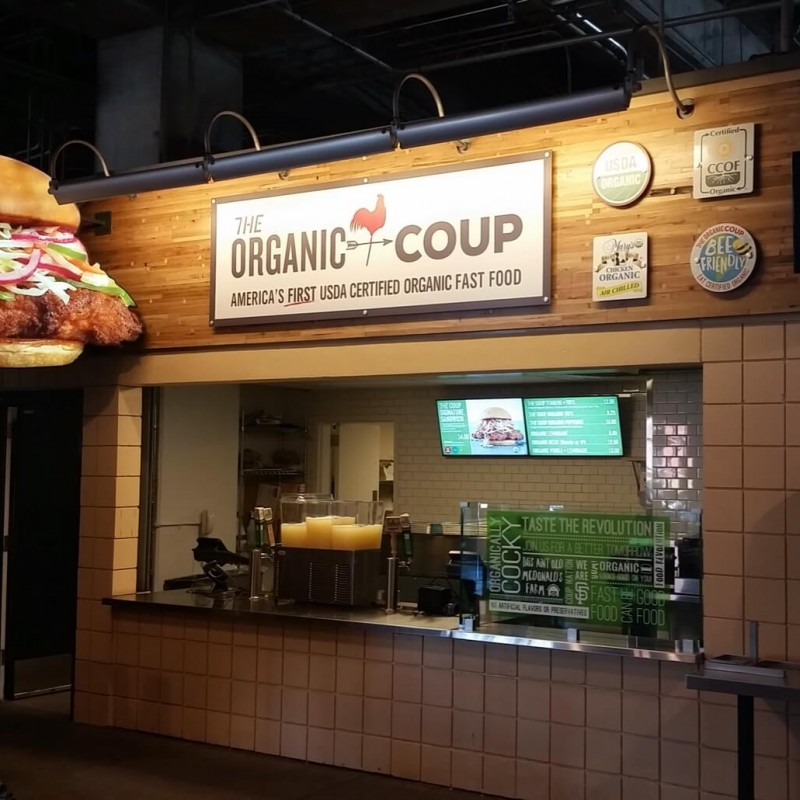 Organic Coup Stand at AT&T Park