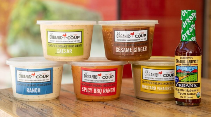 The Organic Coup Signature Sauces